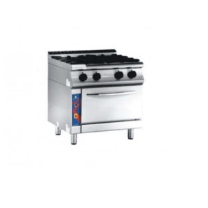 Four Burner With Pizza Oven