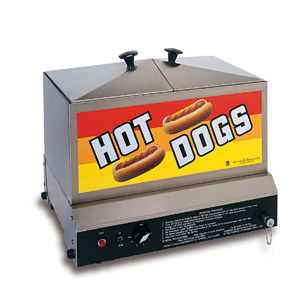 Hot Dog Grills & Steamers