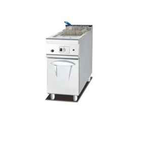 Gas single Deep Fryer with cabinets