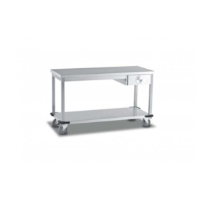 Mobile Table With Single Drawer/Single U/S