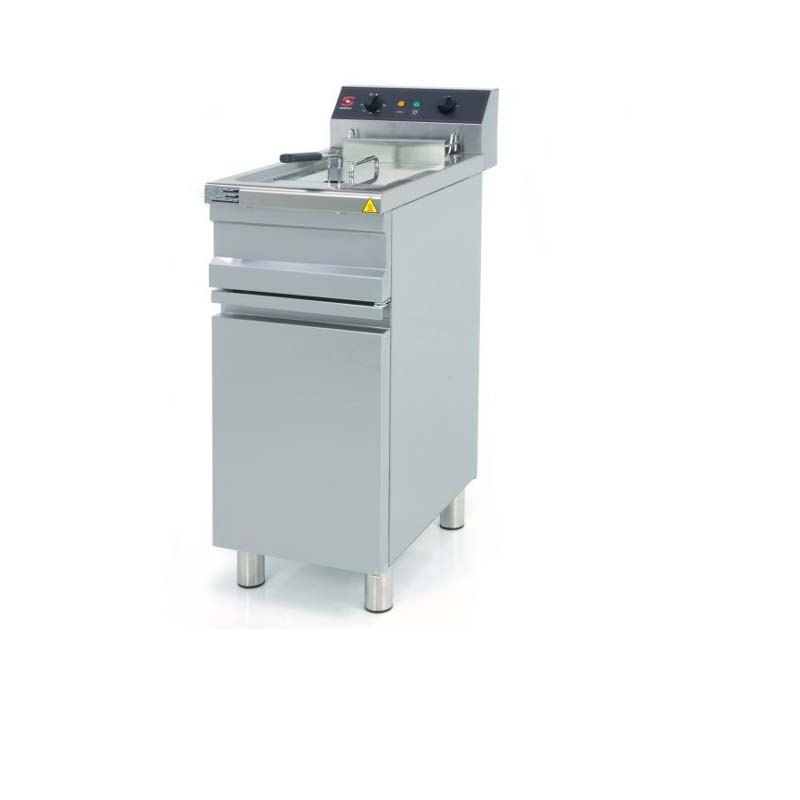 Single Eletric Deep Fryer with cabinets