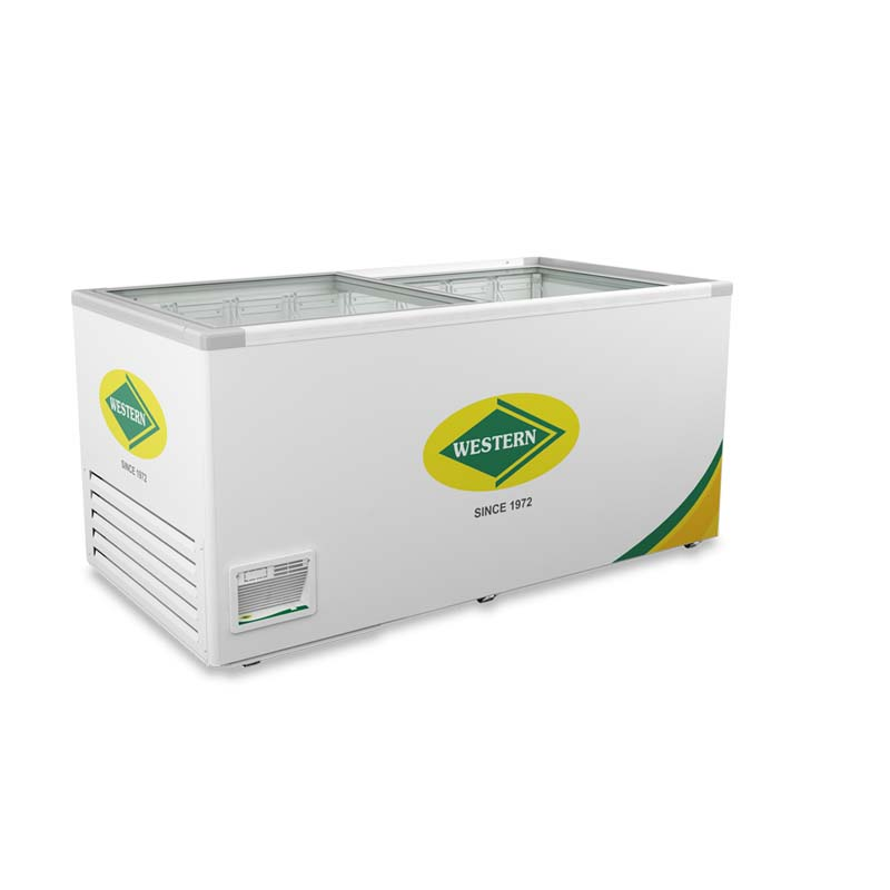 WESTERN GLASS TOP CHEST FREEZER WHF825G