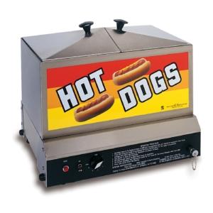 Hot Dog Grill with Bun Warmer